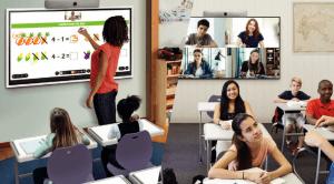 Web会議システムと組み合わせた遠隔教育 Flip2+Web会議システム(WebEx, Teams, Meet,Zoom等)
